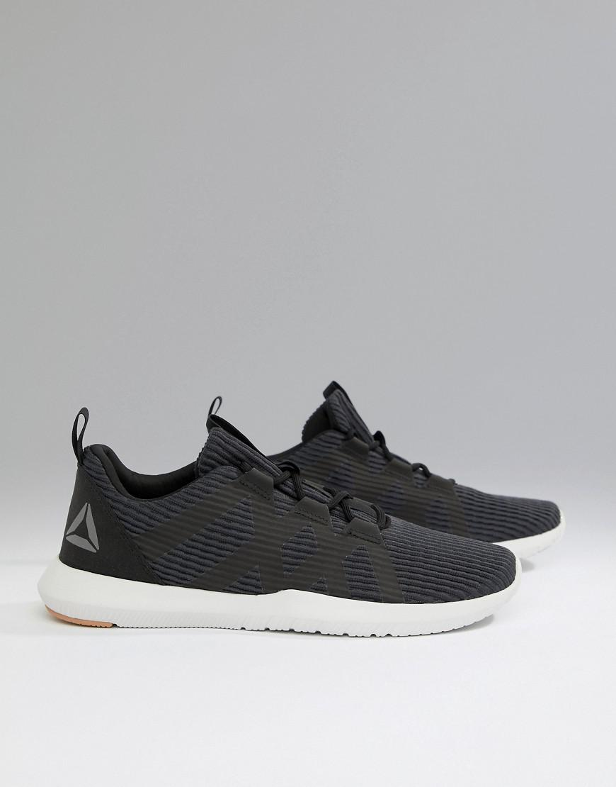 Reebok Training Reago Pulse Sneakers In Black Cn5125 in Black for ... 7294e520f
