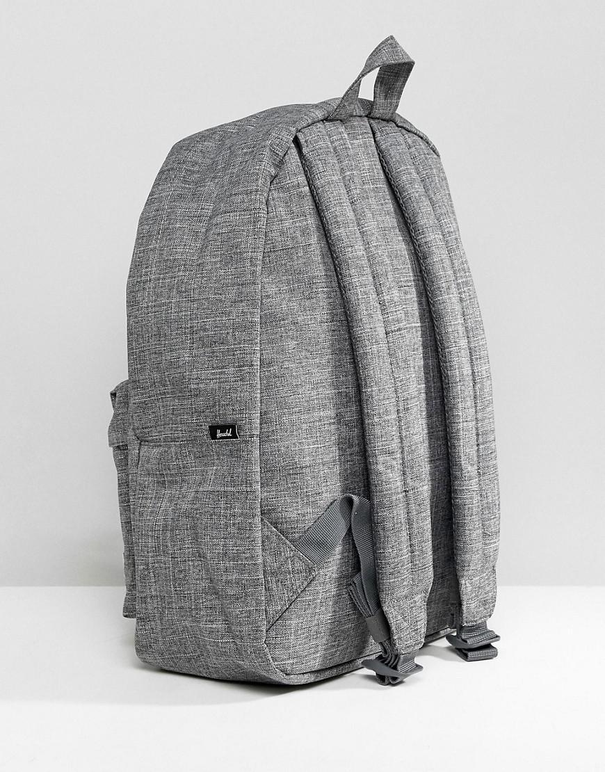 58fc9bd773 Herschel Supply Co. Classic Backpack In Crosshatch in Gray for Men - Lyst