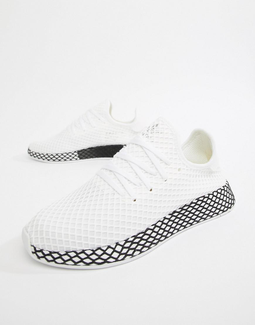 buy popular 0f3bb e5a66 Lyst - adidas Originals Deerupt Sneakers In White B41767 in White for Men