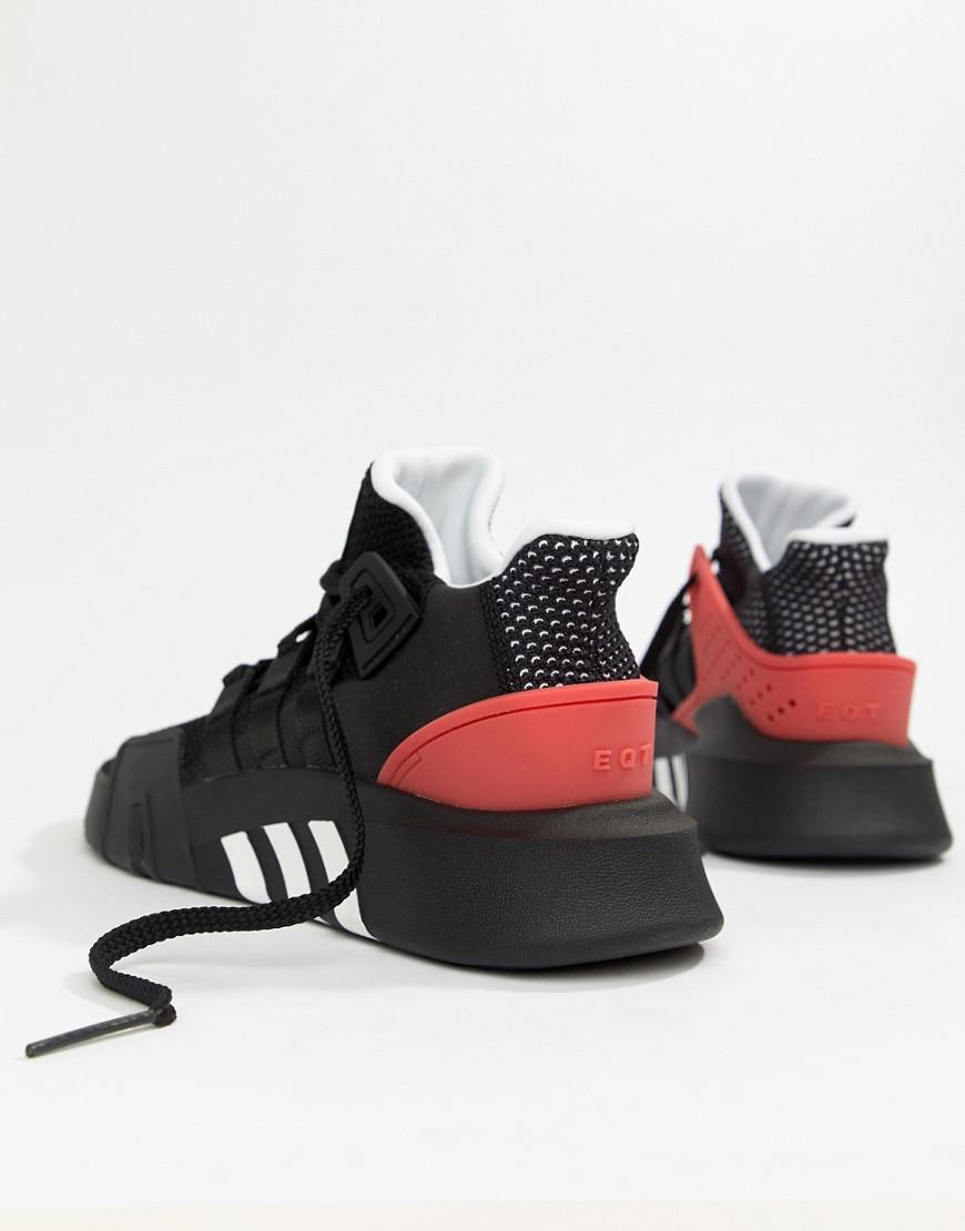dfc9180bcb3 adidas Originals Eqt Bask Adv Trainers In Black Aq1013 in Black for Men -  Lyst