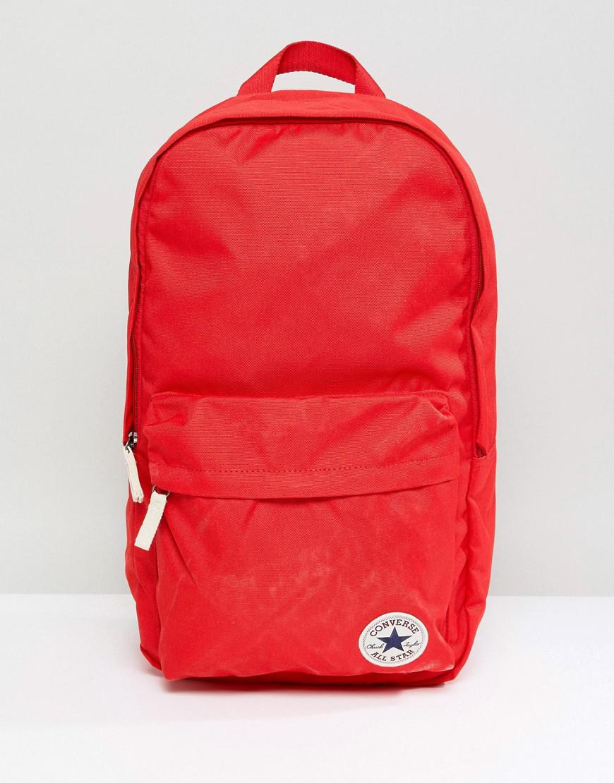 11e43a0c34ee Lyst - Converse Chuck Taylor Patch Backpack In Red in Red for Men