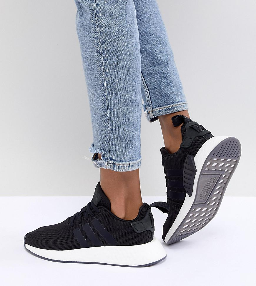 4b8a6de424a1 Lyst - adidas Originals Nmd R2 Sneakers In Black in Black