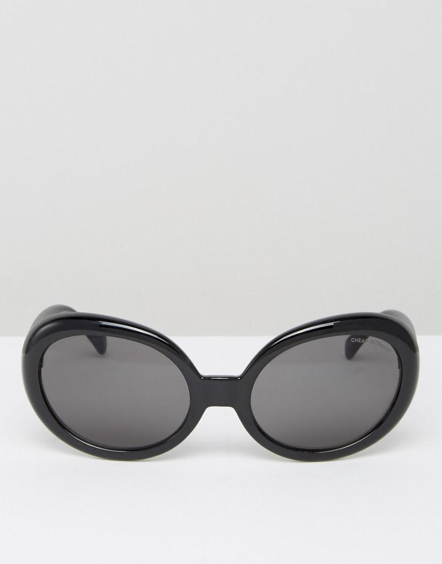 f1fad65d58 Lyst - Cheap Monday Kurt Cat Eye Sunglasses In Black in Black