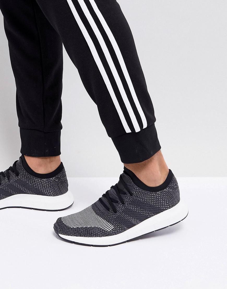6d19ac71b4bb Lyst - Adidas Originals Swift Run Primeknit Trainers In ..