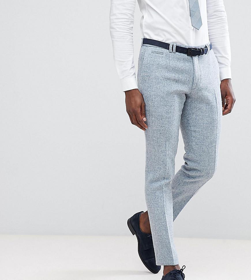 Skinny Suit Trouser In Harris Tweed - Pink Noak X4vjeaqXK