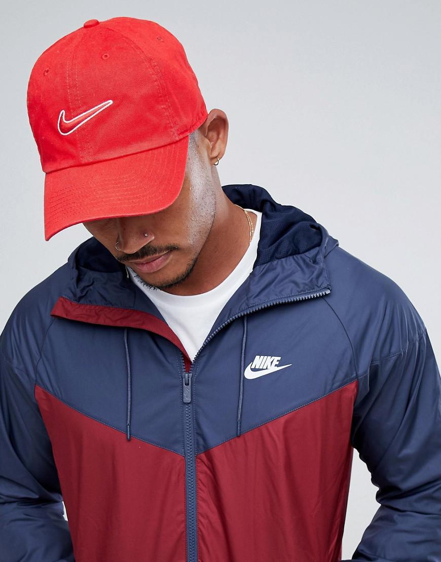 3619ce4becc Nike Swoosh Cap In Red 943091-657 in Red for Men - Lyst