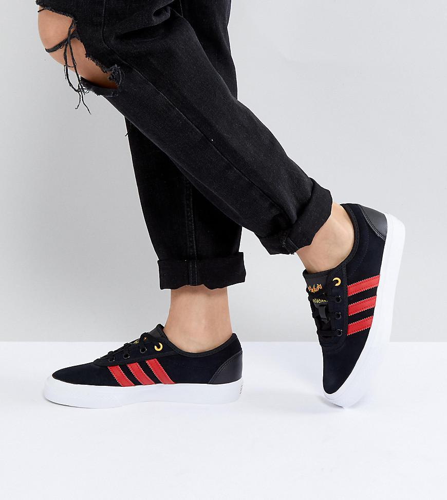 413b3af41e5 Lyst - adidas Originals Skate Boarding Adi-ease Sneakers With Logo ...