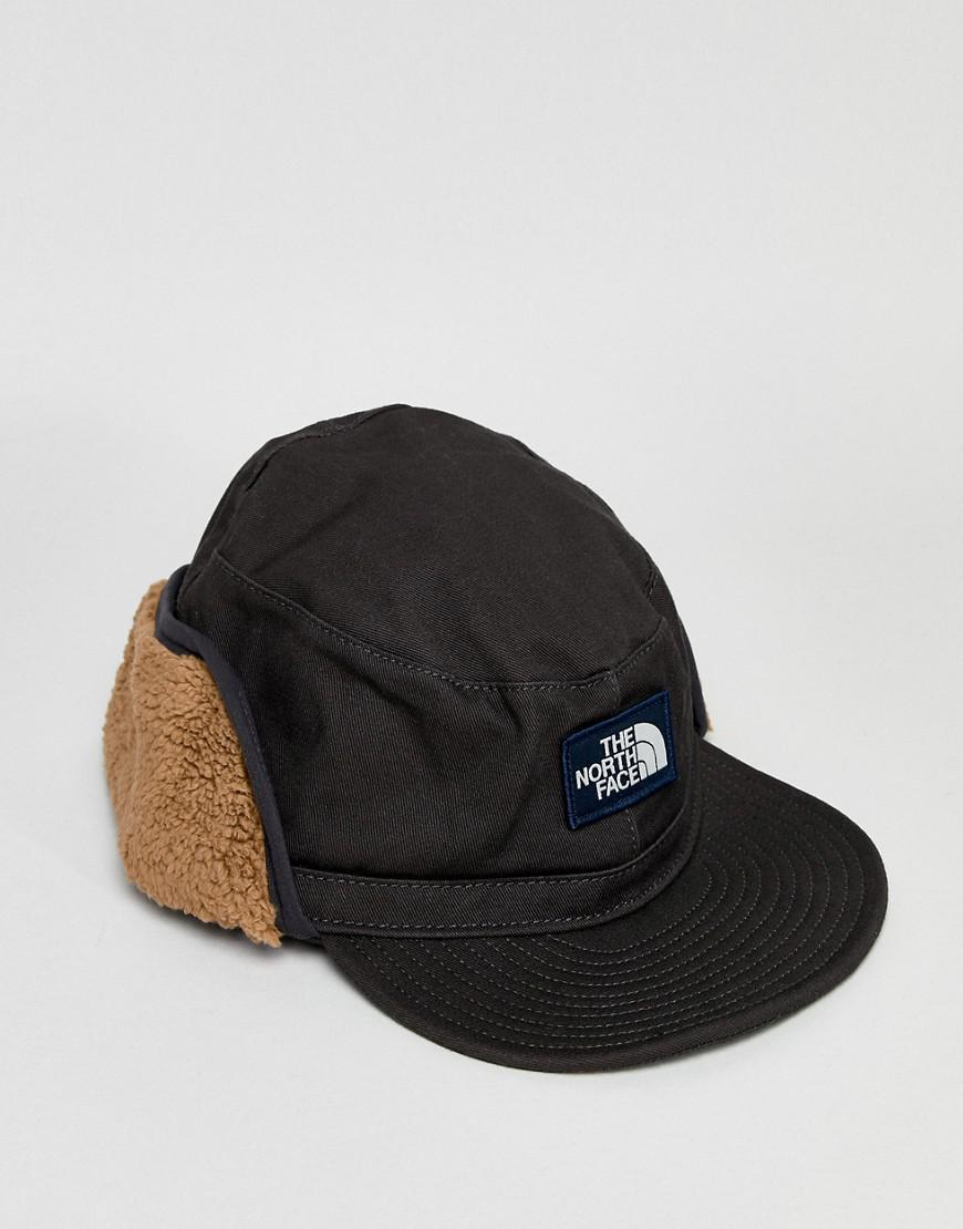 48303f18289 Lyst - The North Face Campshire Earflap Cap In Black in Black for Men