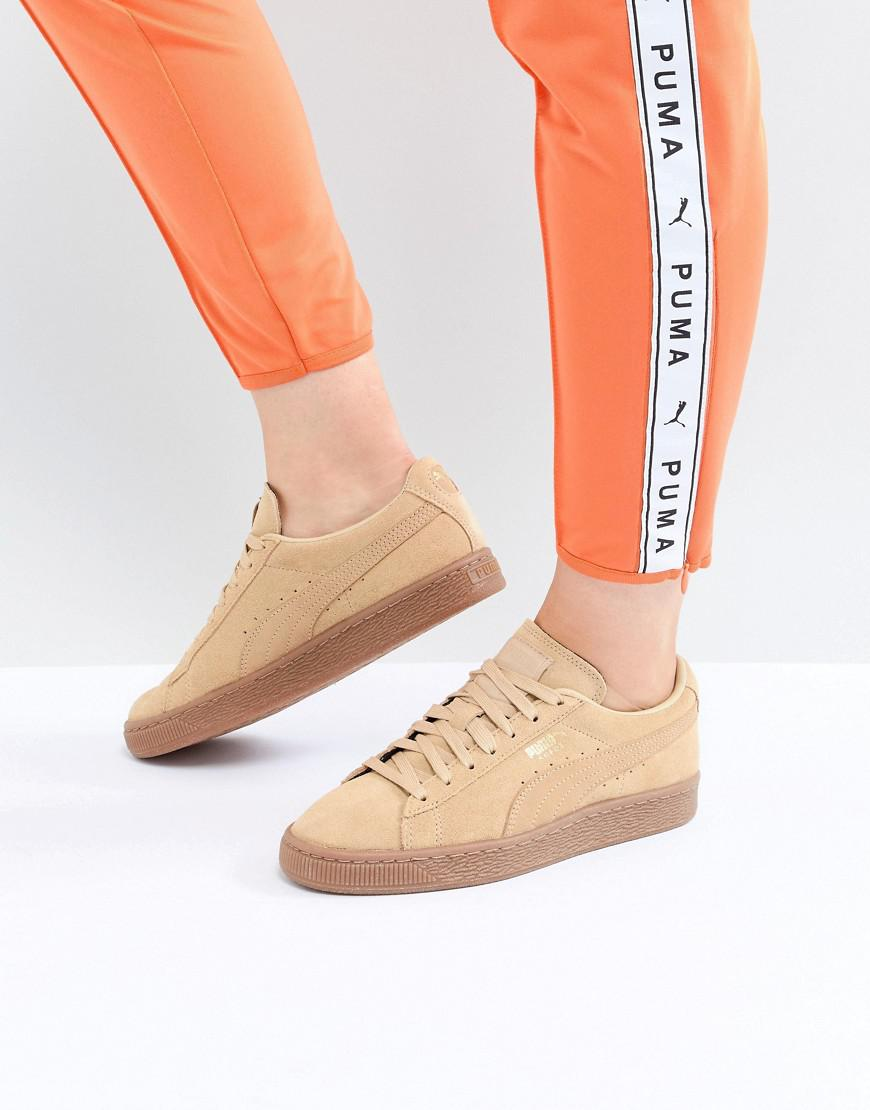 7b86ccd839a5 Lyst - PUMA Suede Classic Sneaker In Mustard in Yellow