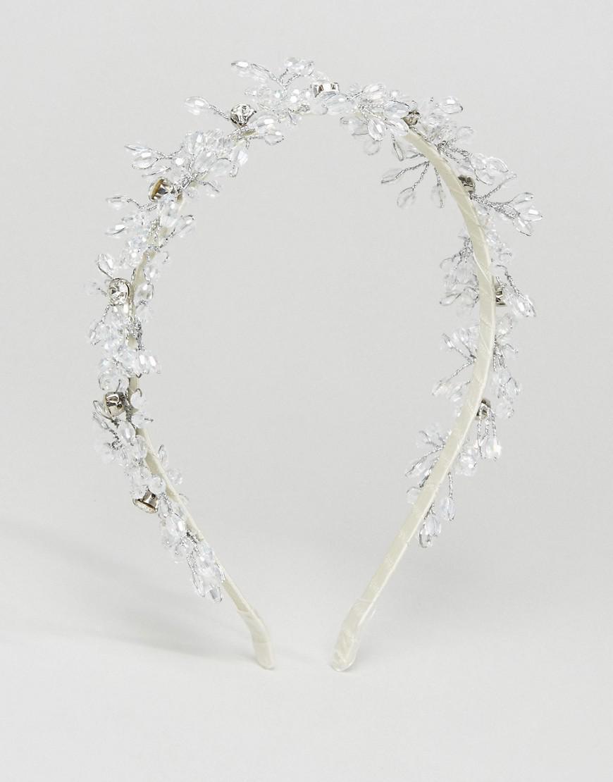 Lyst loverocks london flower crown in metallic gallery izmirmasajfo
