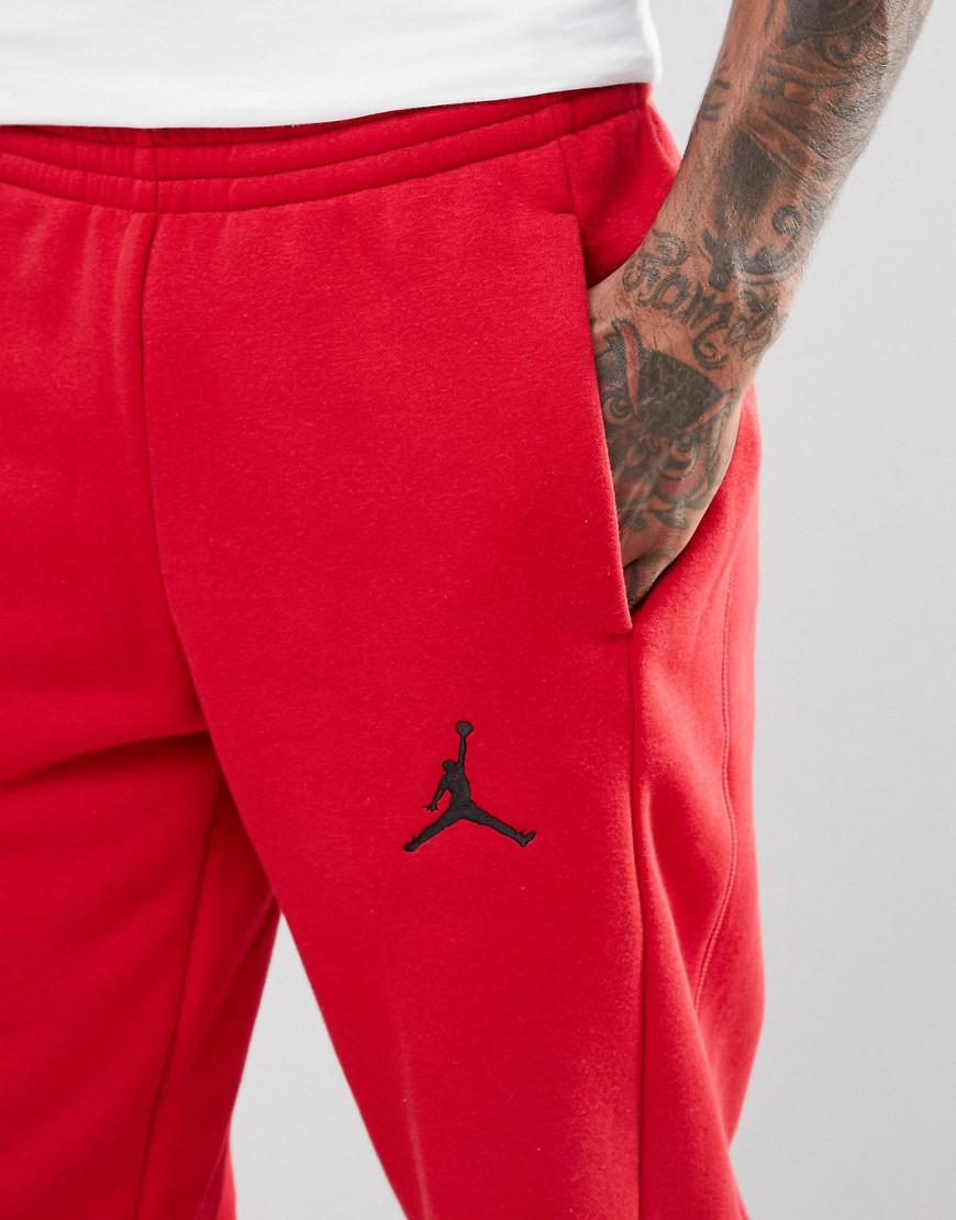6af3a7f131e3b1 Nike Nike Flight Joggers In Red 823071-687 in Red for Men - Lyst