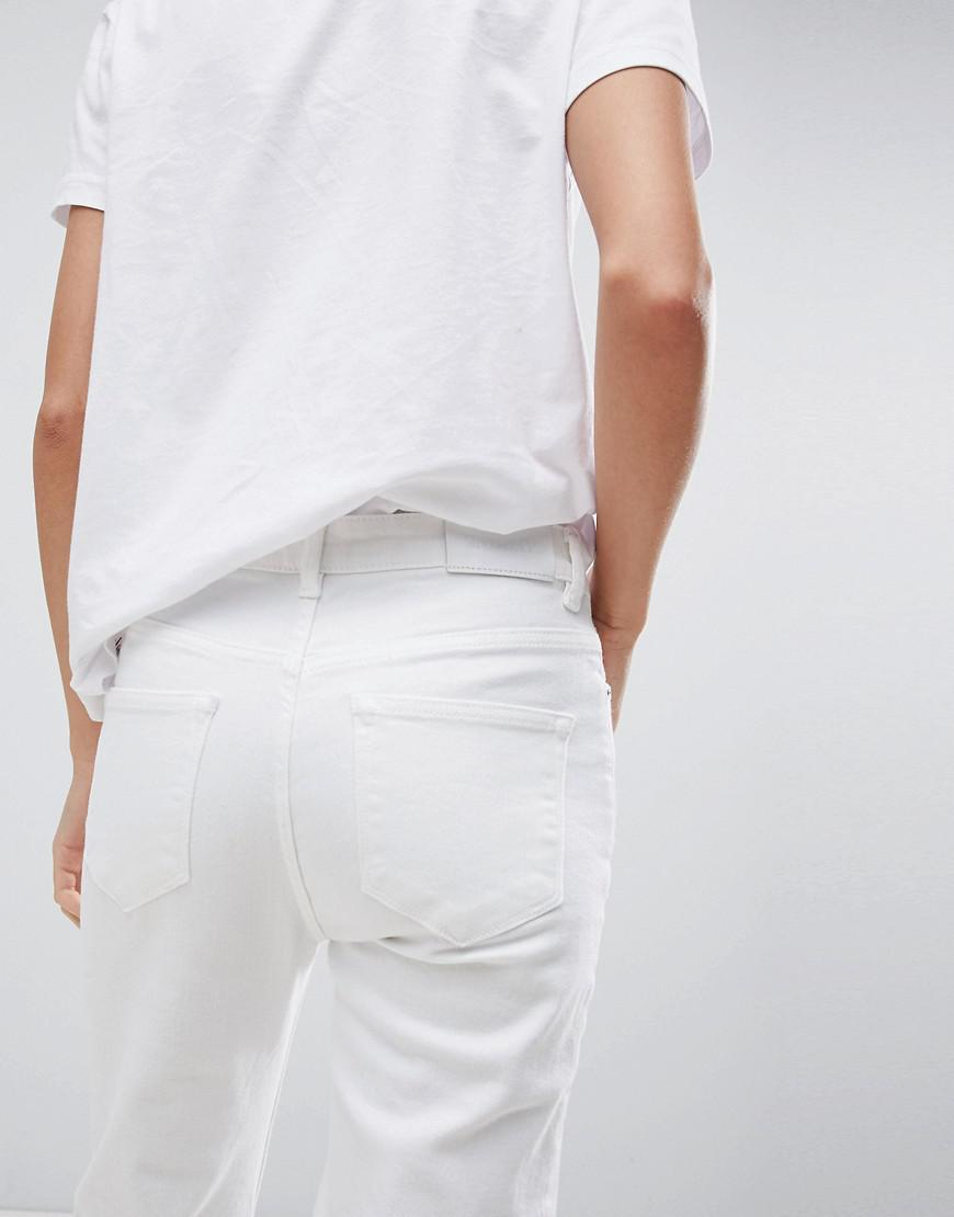 2NDDAY Optic Slim Fit Jeans - White 2nd Day uVtPFuQvo