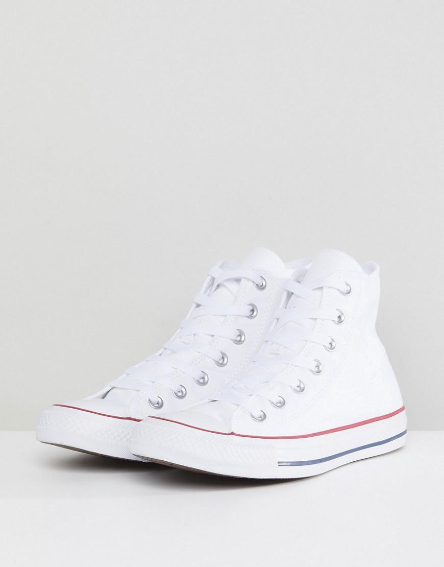 384aa4ae7c7791 Converse All Star High Top White Trainers in White - Lyst