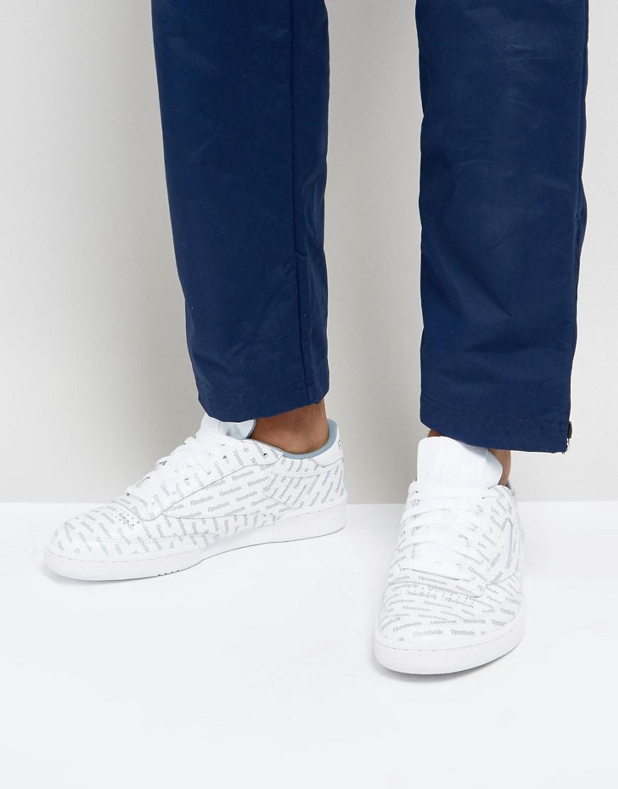 5a3f48937cf Reebok Club C 85 So Sneakers In White Bs5215 in White for Men - Lyst