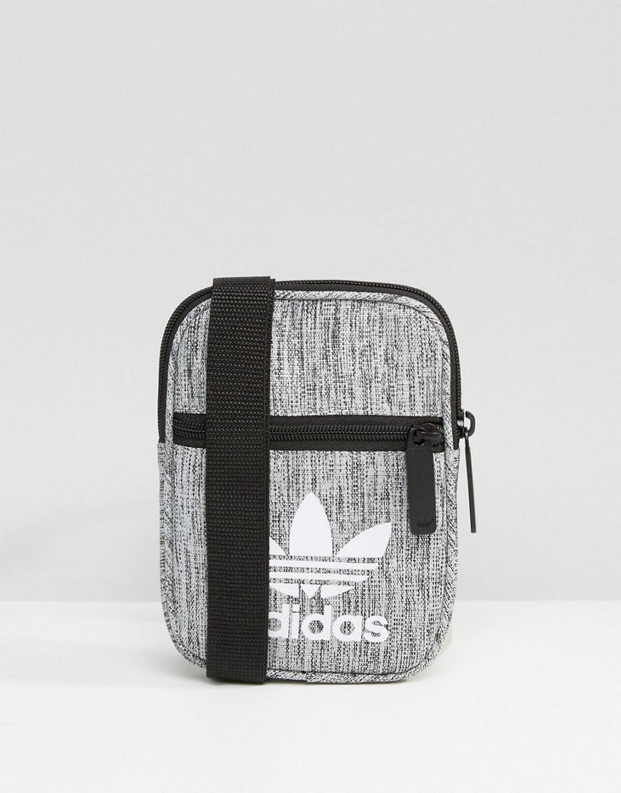 5c66adb06f70 Lyst - adidas Originals Flight Bag In Gray Bk7109 in Gray for Men