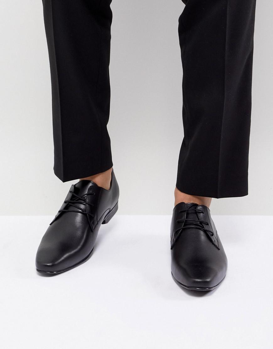 KG By Kurt Geiger Kendal Patent Derby Shoes - Black Kurt Geiger 6fBEKObX