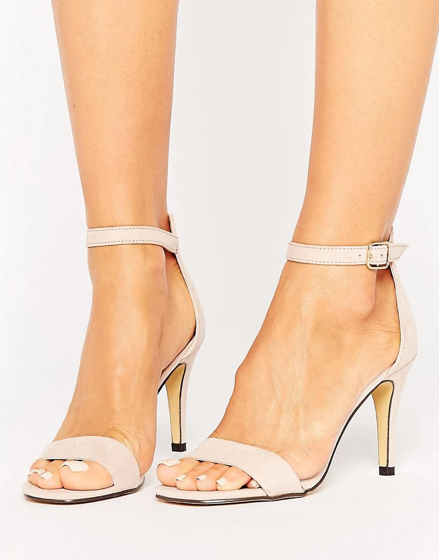 Oasis Barely There Heeled Sandals A0YD31Gw9T