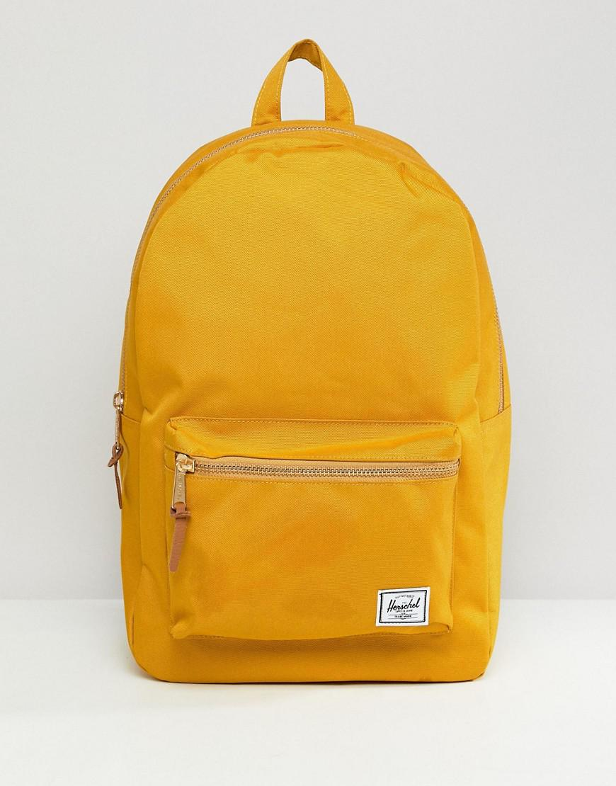 dd6dcd816ea Lyst - Herschel Supply Co. Settlement Backpack 23l in Yellow