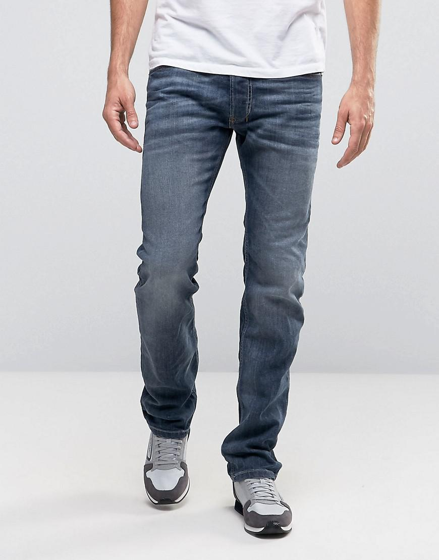 3cad052d DIESEL Safado Straight Fit Jeans In 0885jk Grey in Gray for Men - Lyst