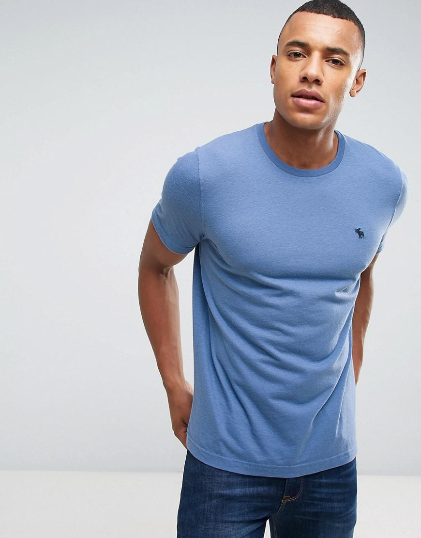 b072f5f9a Lyst - Abercrombie & Fitch Slim Fit T-shirt Pop Icon Crew Neck In ...