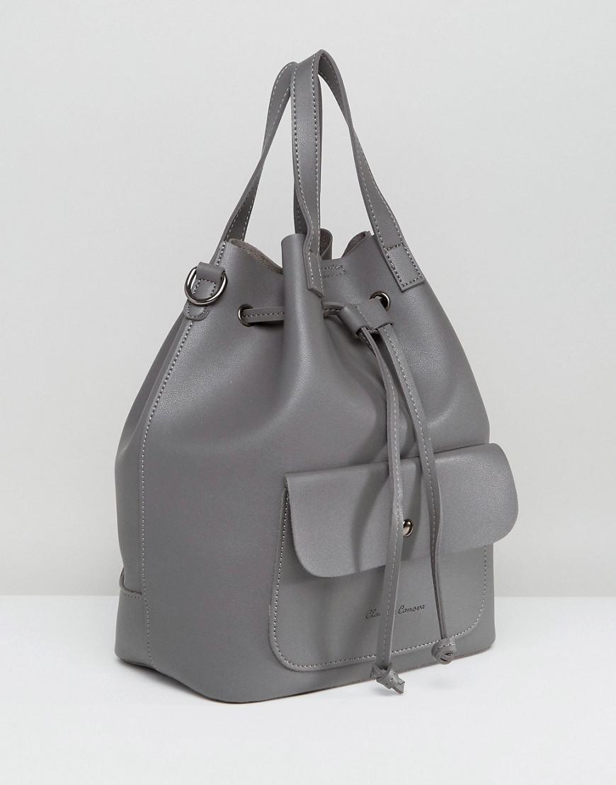 Unlind Duffle Backpack - Black Claudia Canova JW6Oo