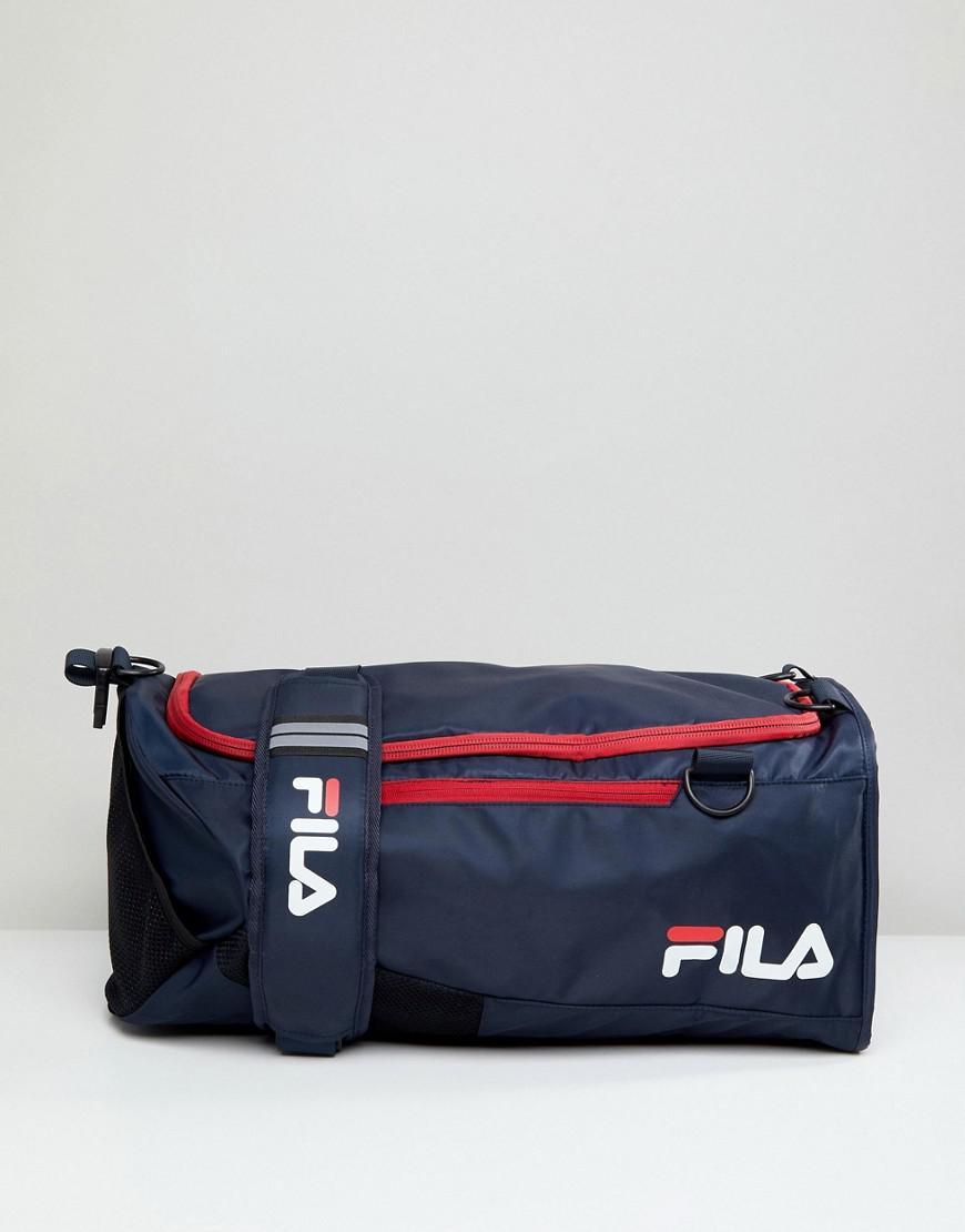 0ea38238c9 Fila Hollis Medium Backpack Holdall In Navy in Blue for Men - Lyst
