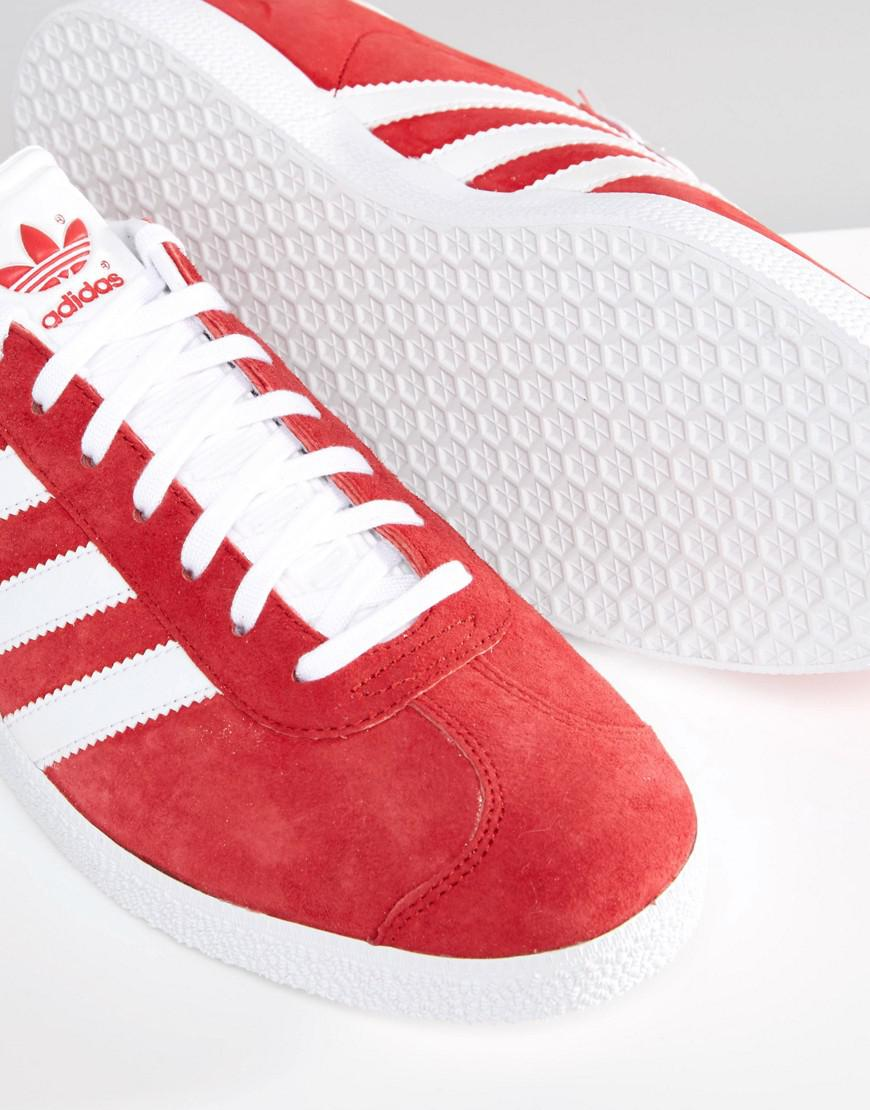 Gazelle Trainers In Red S76228 - Red adidas Originals Z8qsRk76Rb