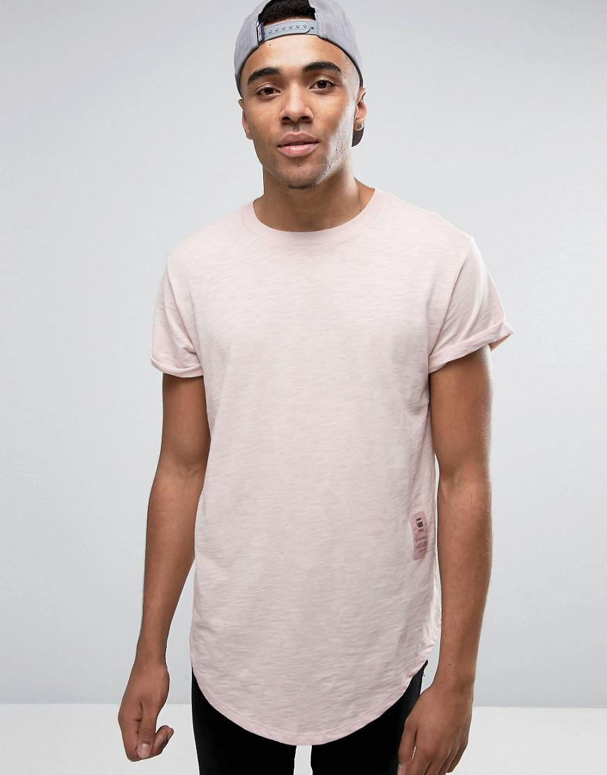 BeRaw Qane Relaxed T-Shirt - Pink G-Star Top Quality Cheap Price Recommend Cheap Best Prices Sale Professional Buy Cheap Brand New Unisex wW30DL