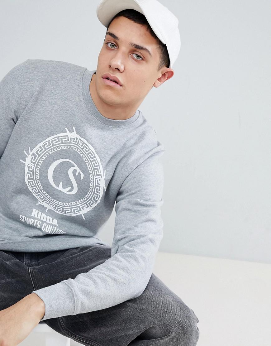 931668cfc1b Christopher Shannon Kidda By Logo Sweatshirt In Grey in Gray for Men ...