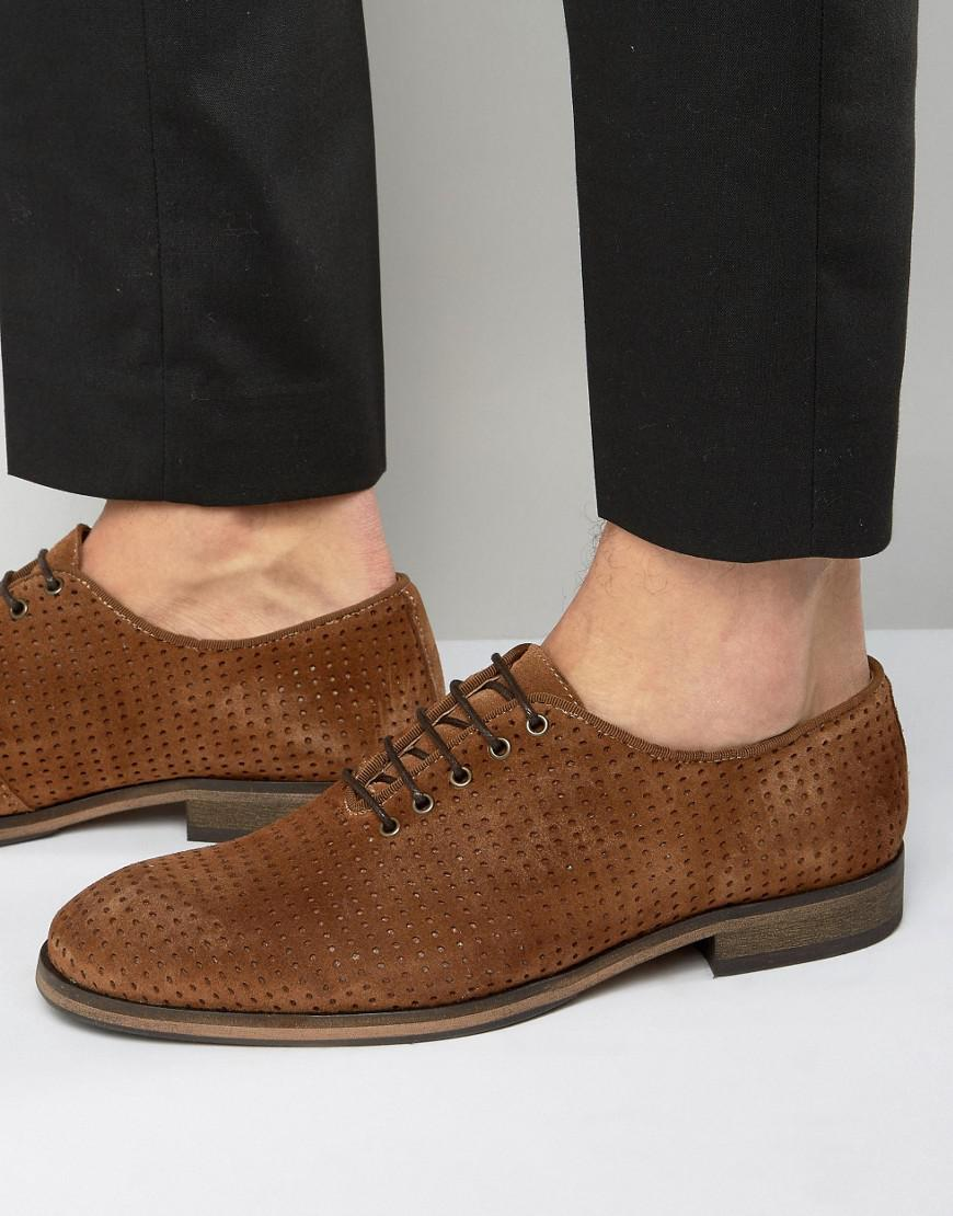 Selected Bolton Perforated Shoes