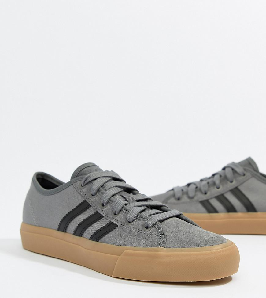 d4aeabf5edf adidas Originals. Women s Gray Adidas Skate Boarding Matchcourt Rx Sneakers  With Gum Sole