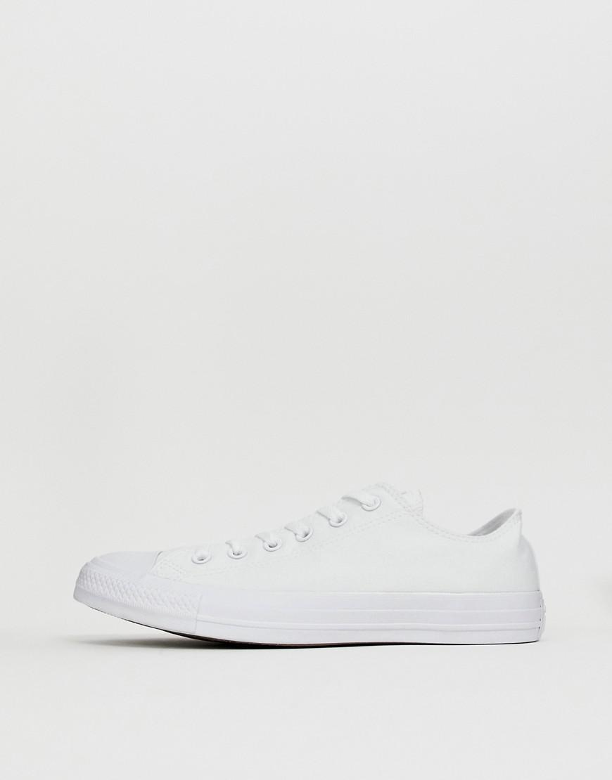 c7f5571c04fdc7 Converse Chuck Taylor All Star Ox Plimsolls In White 1u647 in White for Men  - Lyst