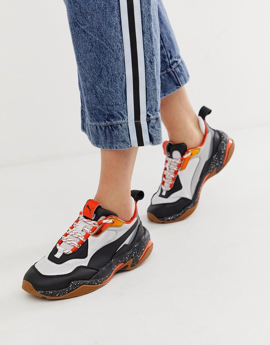 1ba02dc4d67 Lyst - PUMA Thunder Electric Trainer in White