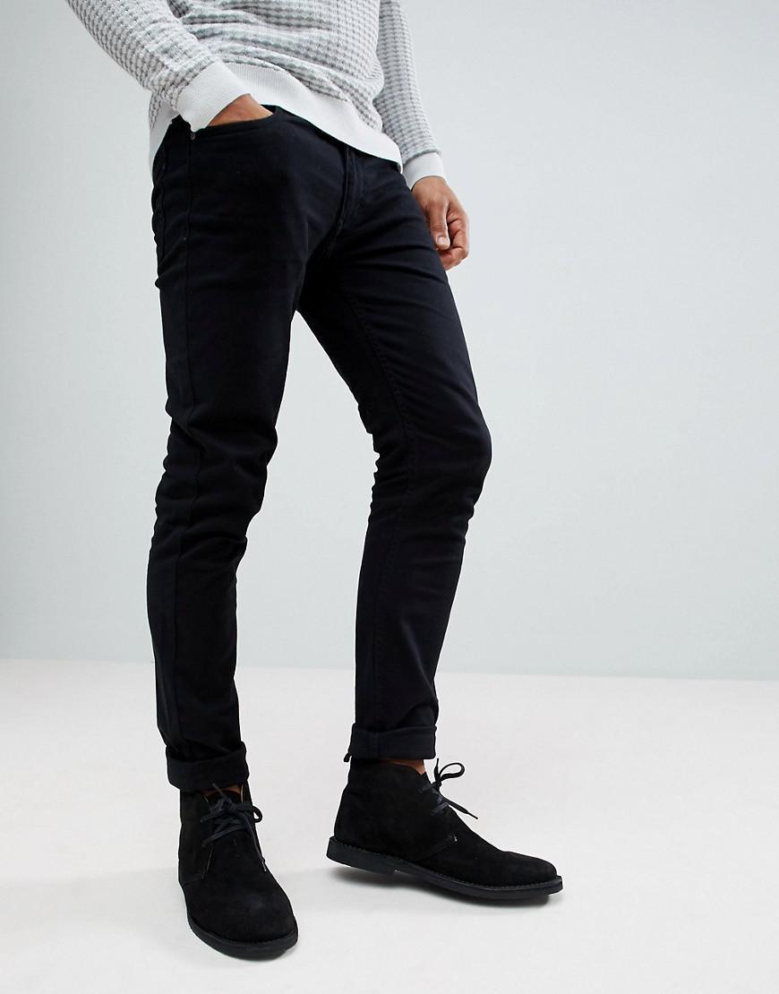 Lyst - Farah Vintage Slim Jean in Black for Men f1e85e42429d
