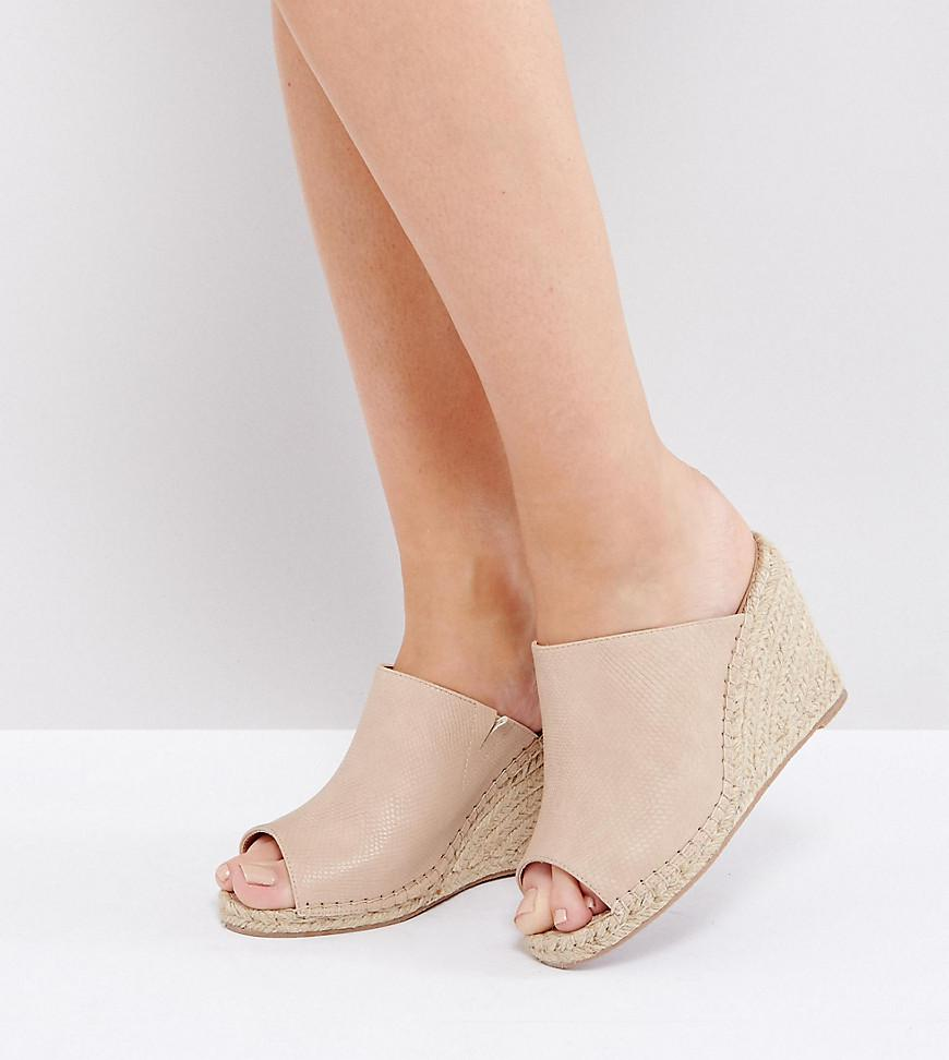 Chaussure De Coin Espadrille - Rebelle Micro Londres Beige ops2Z1NH