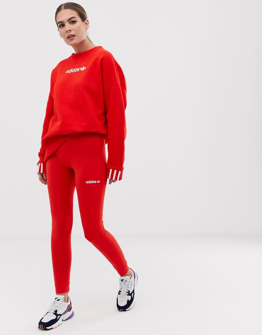 5857037163763 adidas Originals Red in Red - Lyst