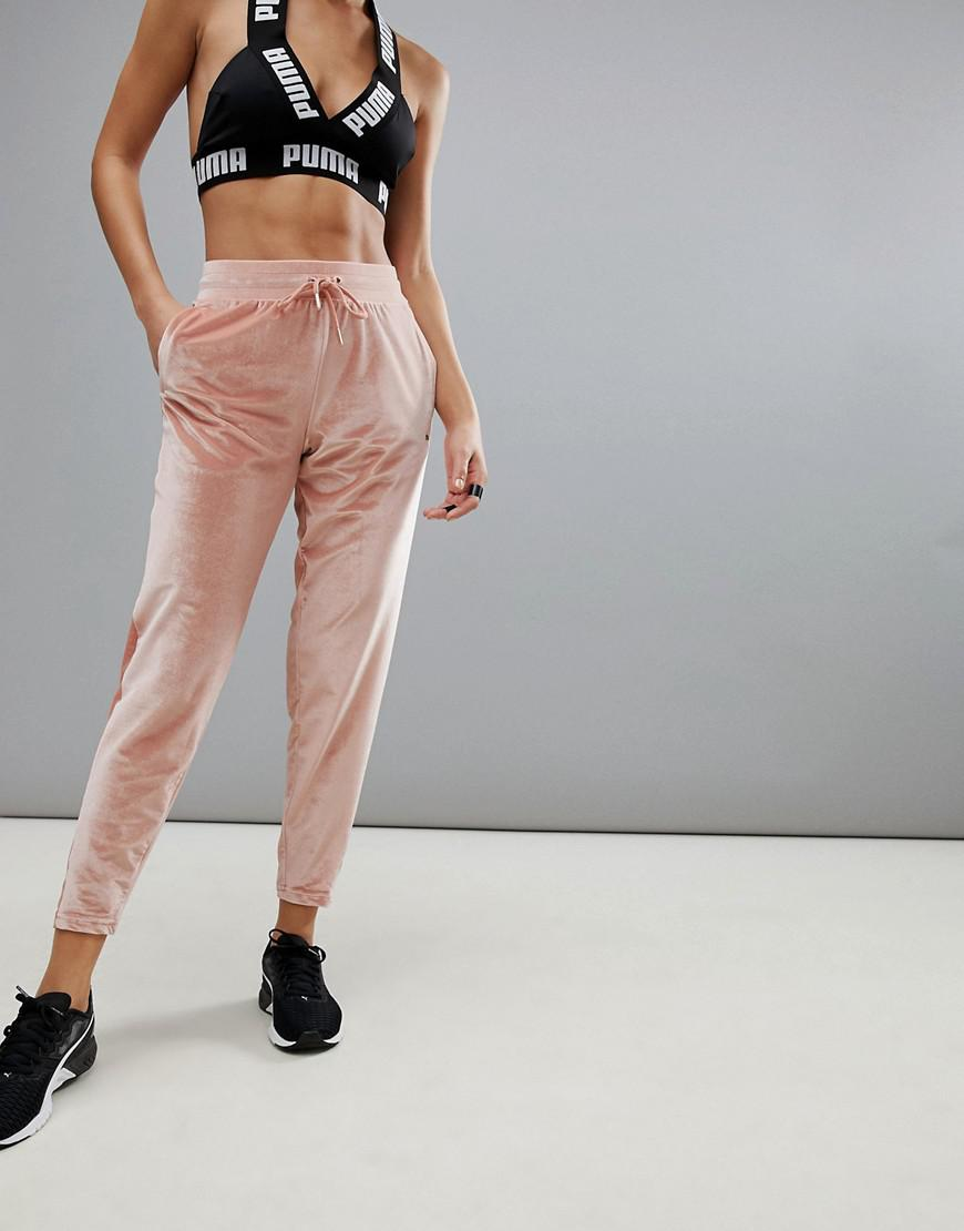 puma velvet yoga pants
