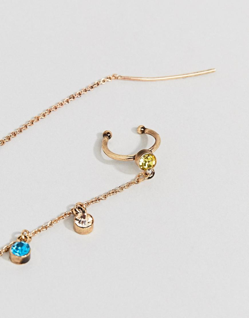 Gallery Women S Ear Cuff Chain Earrings
