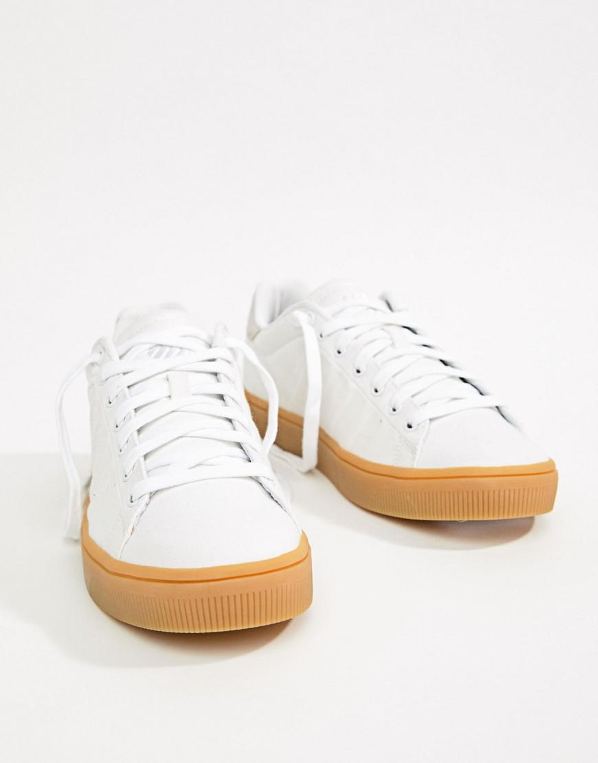 K-Swiss Court Frasco CVS Trainers In White outlet low cost MxmjS