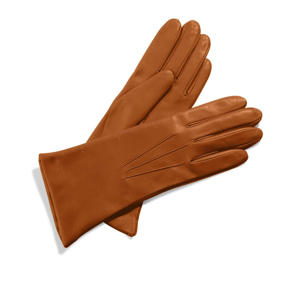 4ac3e6cf77c5 Lyst - Aspinal of London Ladies Cashmere Lined Leather Gloves in Brown