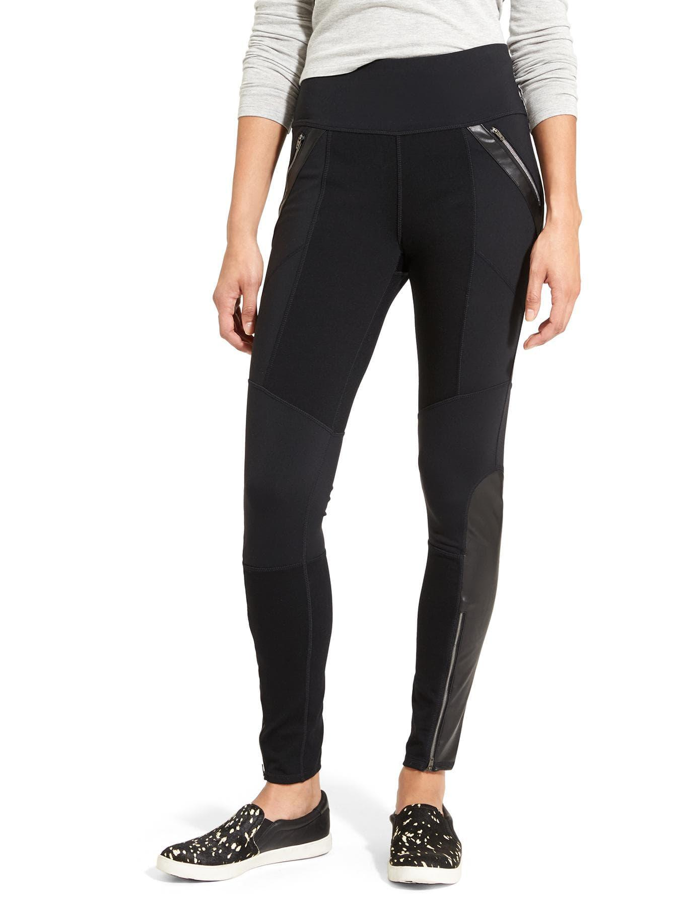 9c16c054c48bb Athleta Ponte Luxe Legging in Black - Lyst