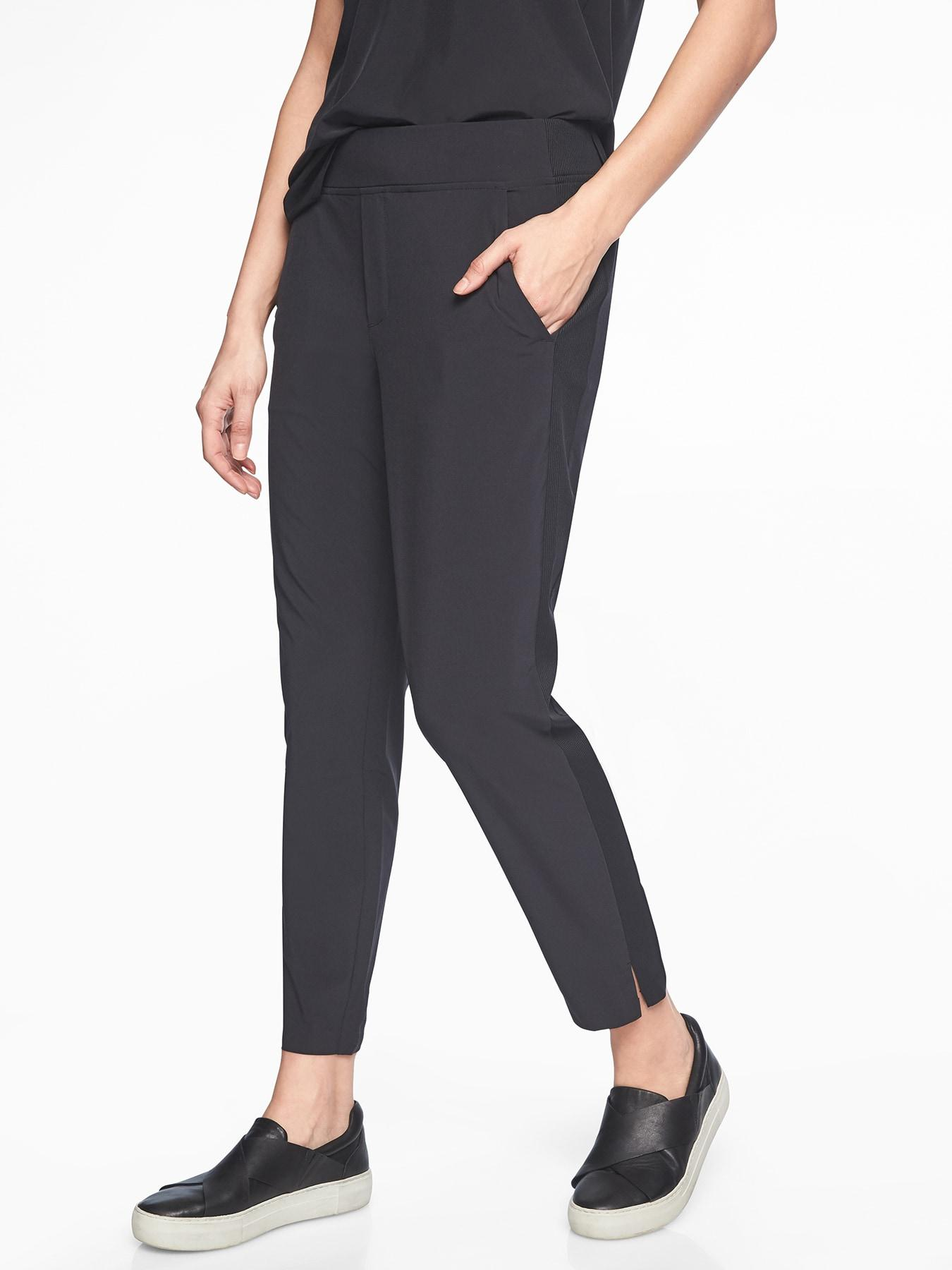 c594b251af3 Lyst - Athleta Brooklyn Ankle Pant in Black