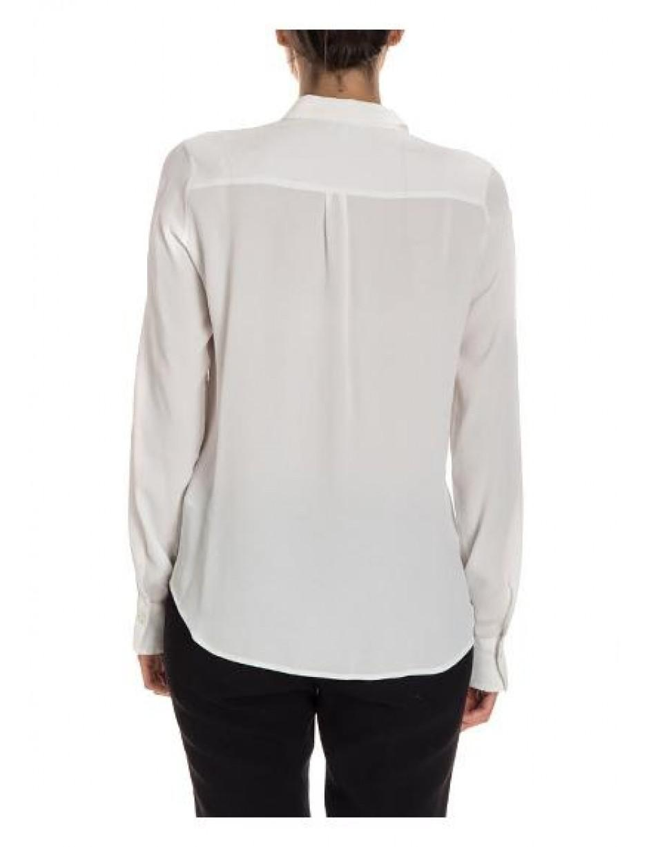 9d7aa69a64b96d Lyst - Her Shirt Blouse In White in White