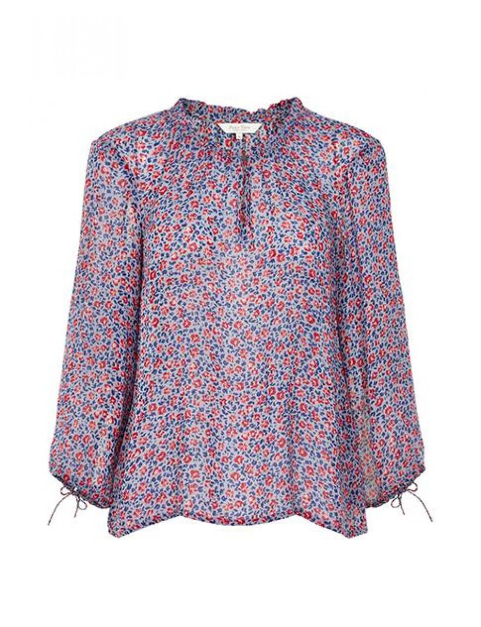 Lyst Part Two Kandice Pink Ditzy Flower Blouse