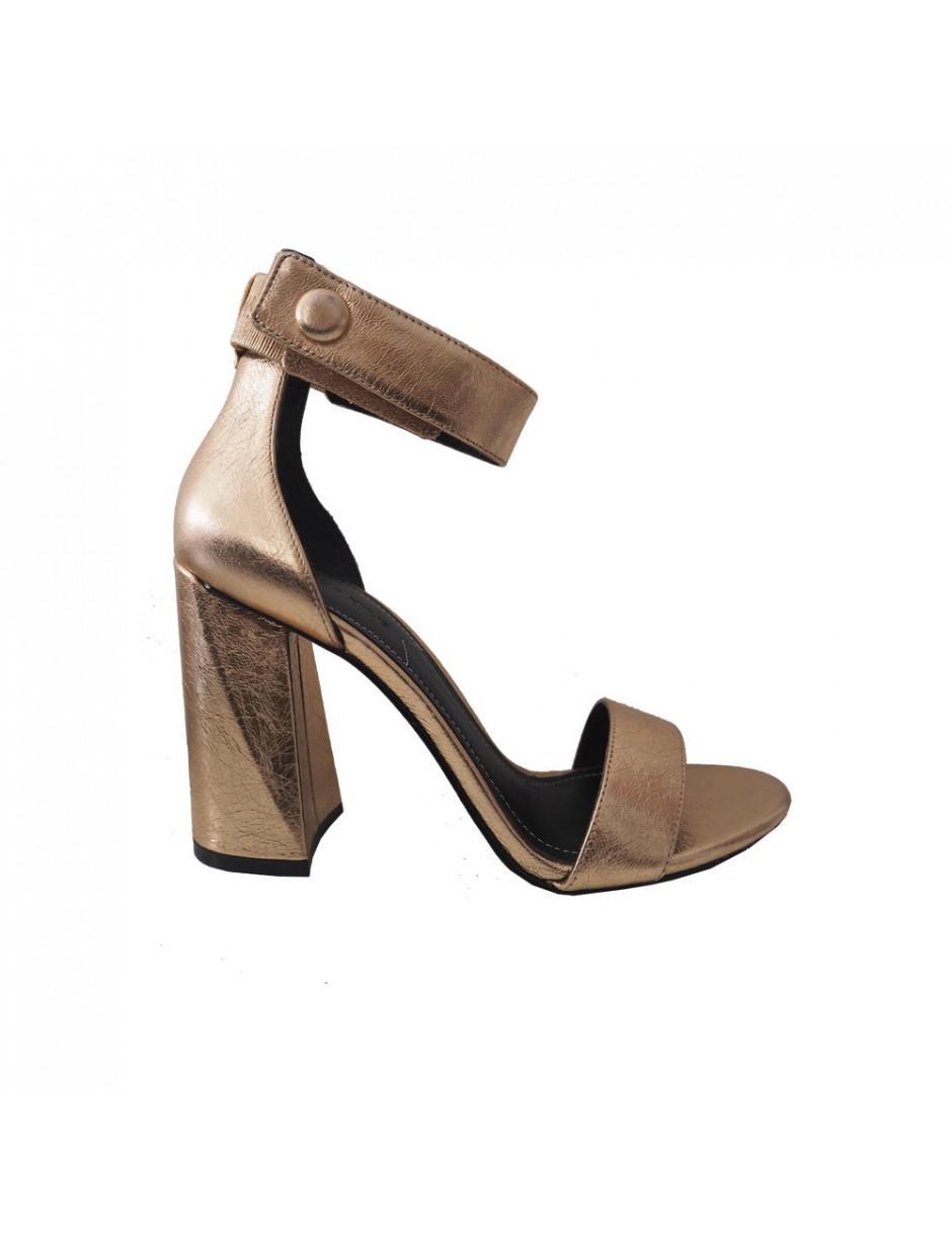 1b503e099b3 Lyst - Kendall + Kylie Kkjewel Ankle Strap Heels in Metallic
