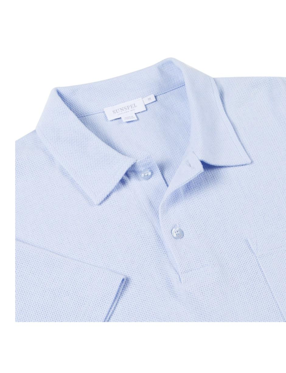 1e7976539 Lyst - Sunspel S s Riviera Polo Shirt in Blue for Men - Save 38%
