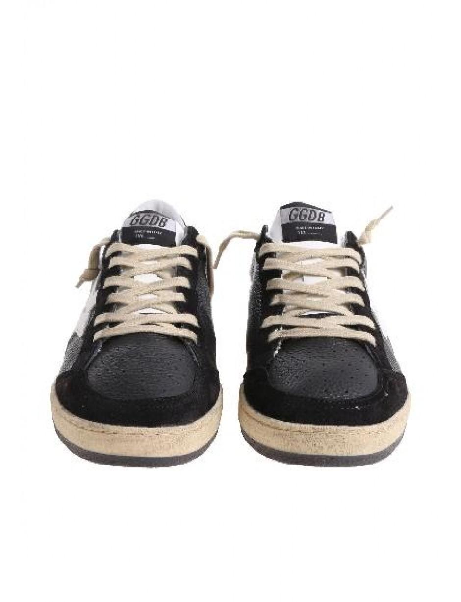 1285b50ff451b Lyst - Golden Goose Deluxe Brand Trainers In Black in Black for Men