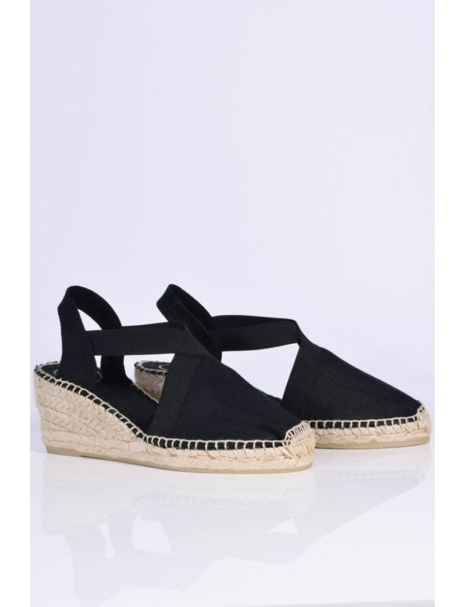 4a14b54e0ce Lyst - Toni Pons Ter Low Wedge Espadrilles in Black