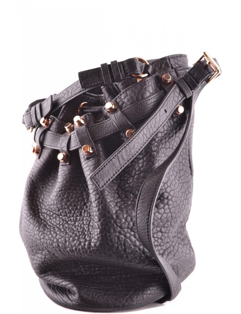 467f36f11 Lyst - Alexander Wang Bag in Black