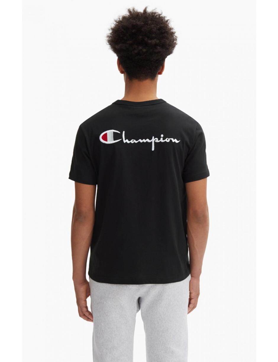 79b4d0a8 Champion - Logo Retro T-shirt In Black for Men - Lyst. View fullscreen